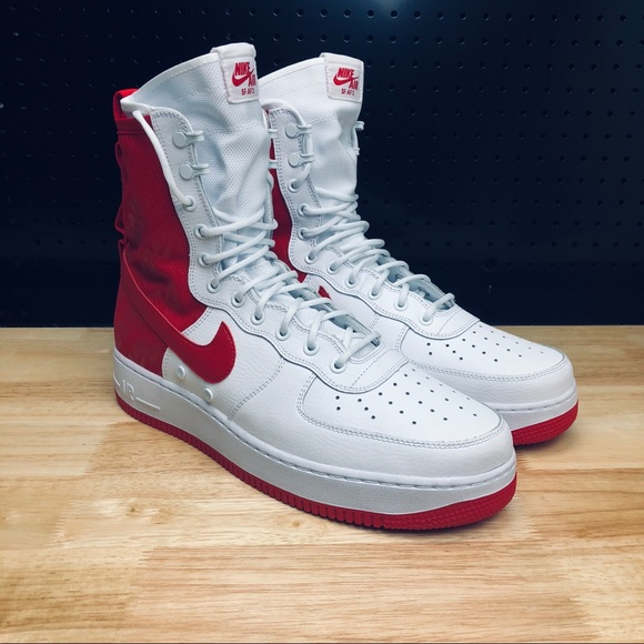 more photos 2ca4f 495ac 2018 Nike Air Force 1 High SF AF1 Special Field NWT